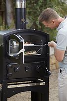 FORNETTO WOOD FIRED OVEN BLACK PIHAUUNI